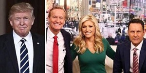 Trump and Fox and Friends
